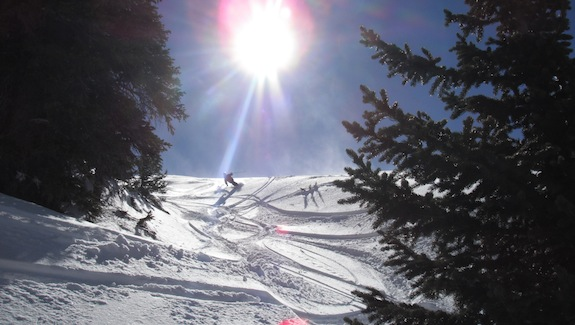 Opening day at Breckenridge tips