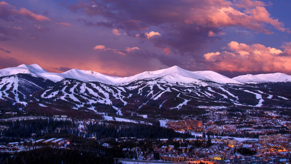 Scenic view of Breckenridge