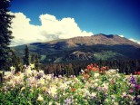 Mt. Baldy in Breck