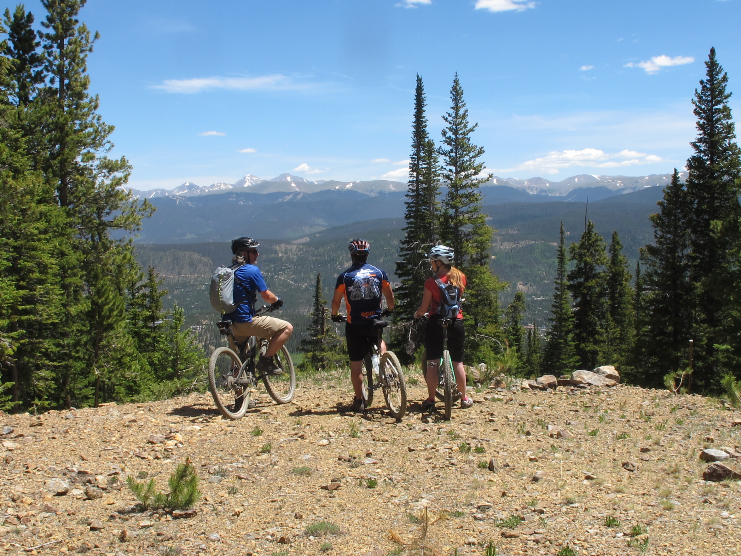 mountain bike lessons at breck