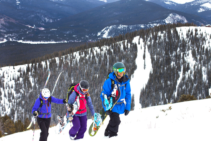 back country hiking Breck Guides