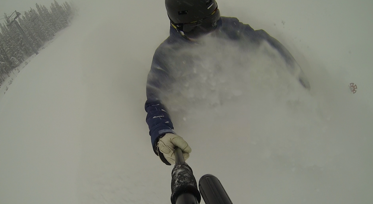 Powder day at Breck