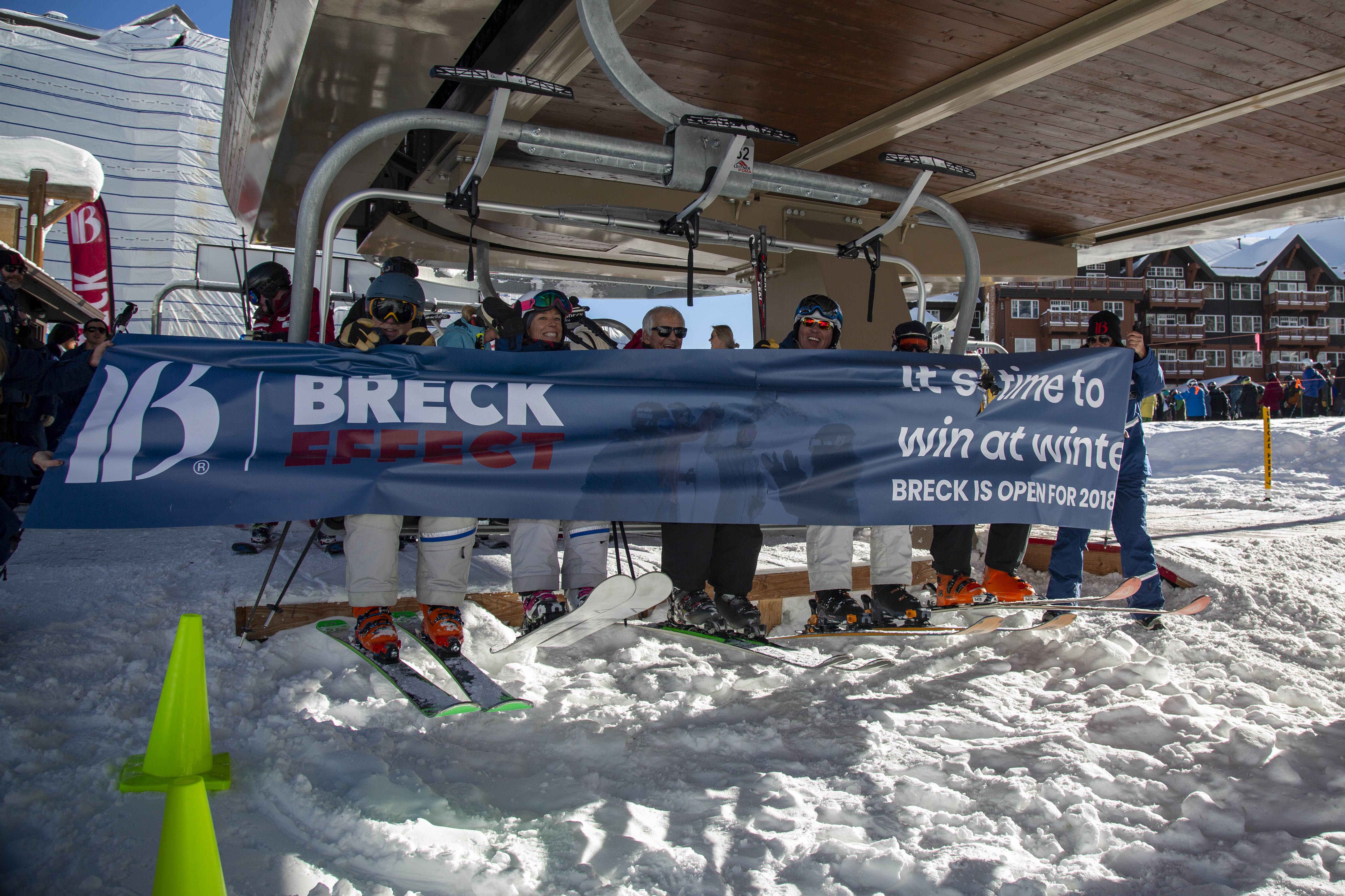 Breck Opening Day 2019 - banner break