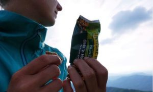 Nature Valley hiking snacks