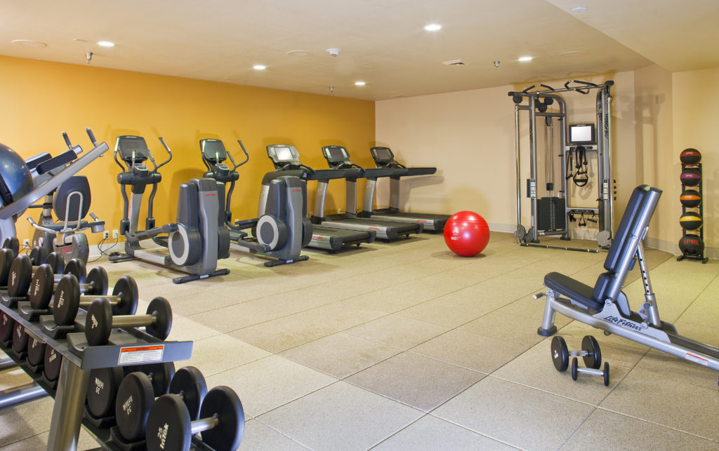 Gym at DoubleTree Hilton Breckenridge